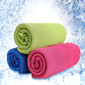 (3 Pack) Cool Core Cold Feeling Cool 15 Degrees Ice Towel Price Philippines