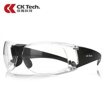 Harga Outdoor Motorcycle Goggles Clear Laboratory Eyeglasses Eye Protector Safety Goggles Anti Dust - intl