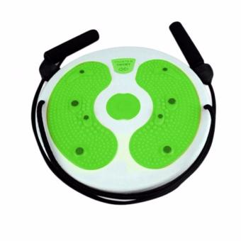 J&A Trimmer Twisting Waist Ankle Body Aerobic Exercise Twister Plate Twisting Balance Board for Strength Training, Cardio and Yoga Equipment, Improve Balance, Eye-hand Coordination(Color random delivery) - 3