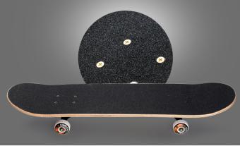 JOY The skeleton pattern adult skateboard - 3