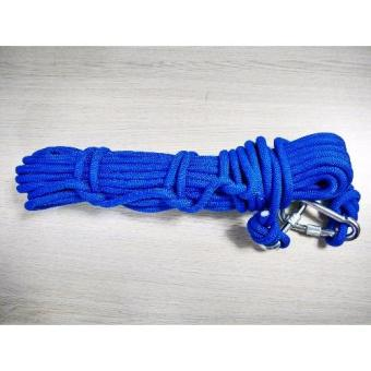 Kernmantle Safety Rope Climbing Rappelling Rescue Escape 20m(Brown)