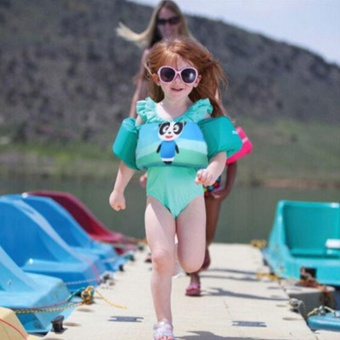 Kids Swimming Puddle Jumper Swim Life Jacket Swim Aid Floater Vests- intl - 3