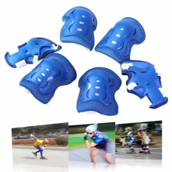 Knee Pads Elbow Wrist Protective Gear Pads for 4-12 Years Boy and Girl Children Kids Cycling Roller Skating Birthday Christmas Gift Set of 6