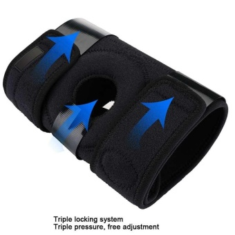 Knee Patella Support Brace Sleeve Wrap Cap Stabilizer Sports 1 Pcs Adjustable -