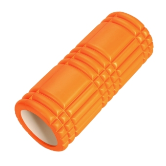 LCD Grid Revolutionary Foam Roller Exercise Workout Massage 12inch (Orange) (Intl)