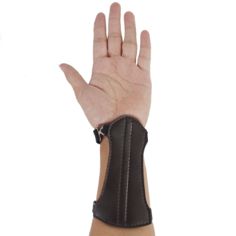 Leather Archery Arm Guard Gear - picture 2