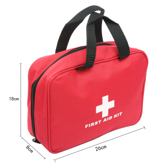 Leegoal First Aid Kit, 280 Pcs Lightweight And Durable MedicalTrauma Kit For Car Sports Hiking Travel Emergency Survival CampingHome - intl - 3