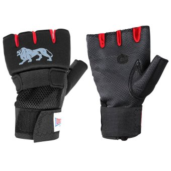 Lonsdale Gel Handwrap (Black/Red)