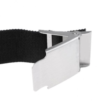 MagiDeal Scuba Diving Dive Heavy Duty Weight Belt 67inch Equip withStainless Buckle - intl - 3