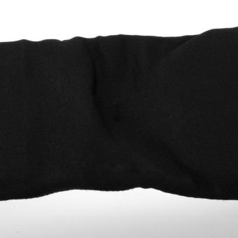 MagiDeal Taekwondo Karate MMA Shin Instep Protector Leg Foot Guard Cloth Pad S Black - intl - 4