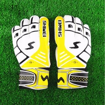 Men Latex Goalkeeper Gloves Soccer Football Gloves-latex Plam Goal Keeper Gloves for Training