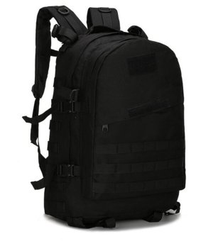 Military Backpack Outdoor Tactical Bag Heavy Duty 40L Black