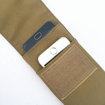Military MOLLE Smartphone Universal Army Mobile Phone Belt Pouch -intl - 2