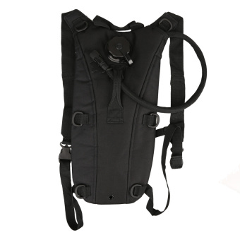 Military Tactical Outdoor Survival 3L Water Backpack Bag withBladder Black