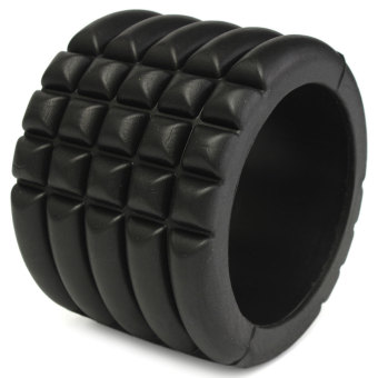 Mini Fitness Foam Roller Exercise Training Muscle Sports Gym Yoga Massage Body Black - picture 3