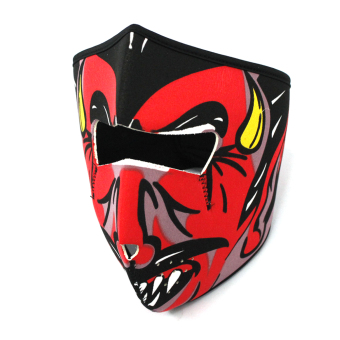 Moto P231 Full Face Mask - Devil Price Philippines