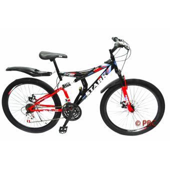 Mountain Bike 26 Stark Full Suspension Disc Brakes mtb