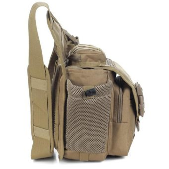 Multi-functional Molle Tactical Military Messenger Shoulder SLR Camera Bag Pack for Hiking Camping Trekking Cycling - intl - 4
