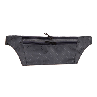 Multifunction Sports Pockets Outdoor Running Fitness Waist (Grey) - picture 2