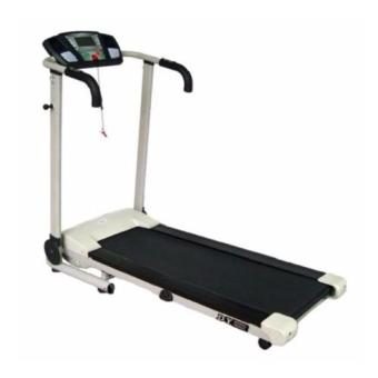 Muscle Power MP 1316A Foldable Motorized Treadmill (White/Black)