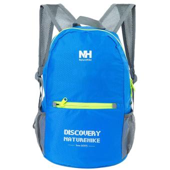 NatureHike B-NH-ZDB Camping Double-Shoulder Backpack Bag (Blue) - 2
