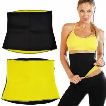 New 2017 Best Quality Body Shaper Waist Trainer Trimmer NeopreneSlimming Belt Hot Shape-L