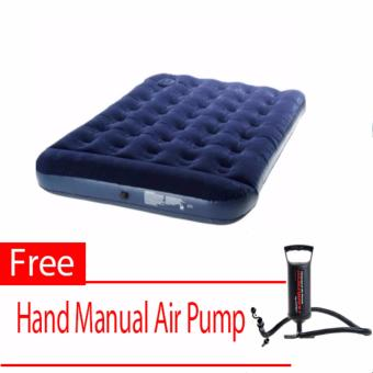 New Bestway Inflatable Airbed (Double Size) With Free (Hand Manual Air Pump)
