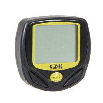 New Wireless Bicycle Cycling Bike Computer Speedometer Odometer Meter - intl - 5