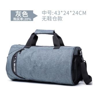 Nylon sports bag Training Gym Bag Men Woman for the gym Fitness bagDurable Multifunction Handbag Outdoor Sporting Tote Medium Size -intl