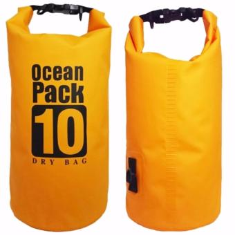 Ocean Pack Waterproof Floating Dry Bag 10L ideal for Outdoor Sports - 2