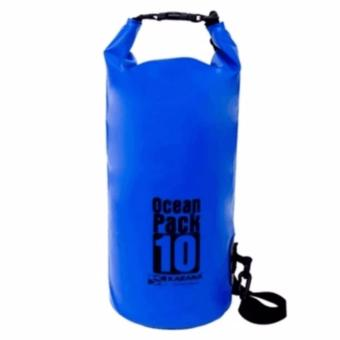 Ocean Pack Waterproof Floating Dry Bag 10L ideal for Outdoor Sports