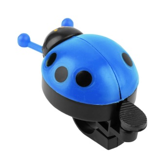 OH Lovely Kid Beetle Ladybug Ring Bell For Cycling Bicycle BikeRide Horn Alarm