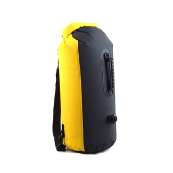 Outdoor 25L Waterproof Bag Drifting Dry Bag Kayak Canoe RaftingCamping Yellow - 3