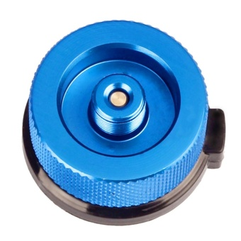 Philippines | Outdoor Camping Picnic Stove Converter Long-Flat Gas Bottle AdapterBurner(Blue) - intl Price Comparison