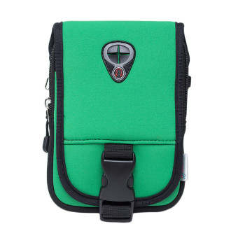 Outdoor Message Shoulder Bag Pouch Waterproof Package (Green) - picture 2
