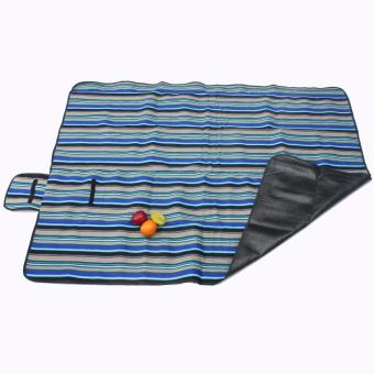 Outdoor Picnic Blanket Mat Pad Waterproof Fleece Rug Travel Camping Pet Garden