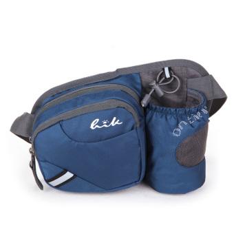 Outdoor Sports Waist Packet Kettle Bag (Dark Blue)