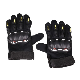 Pair Skateboard Freeride Grip Slide Protective Gloves Longboard with Foam Palm - intl - 3