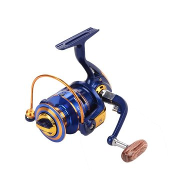PAlight Portable 12+1BB Ball Bearing Metal Spinning Boat FishingReel Wheel (size:FH3000) - intl