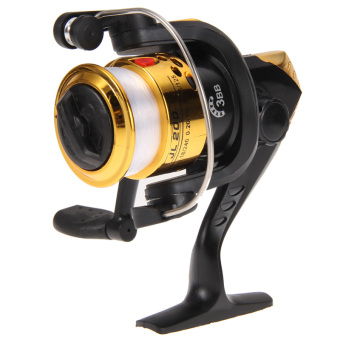 PAlight Spinning Reel Fish Wheel (Gold)