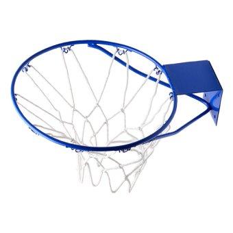 Plastic Coated Basketball ring Jr 14'' (Blue) - 2