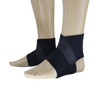 PROCARE #8911A-L Ankle Support Brace Front Lock Type, Pair, Size: Large