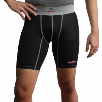 PROCARE COMBAT #CB101 Men Compression Shorts,Dri-Quik 210gsm Fabric Thick, for Running Jogging Basketball