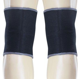 PROCARE PROTECT #6026 Volleyball Knee Pad, 20mm High Density FoamPad, Slip-On, Pair 4mm Embossed Neoprene Anti-Skid - 3