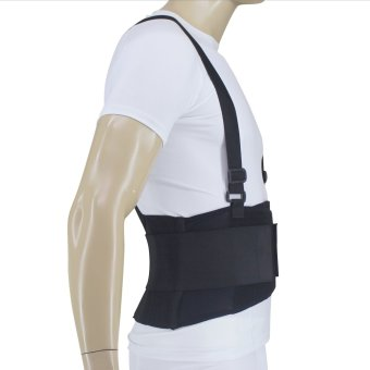 PROCARE PROTECT #BS08 Lumbar Back Support, 8-inch width ElasticLoom Surround the Back with 5pcs Stabilizer Support - 2