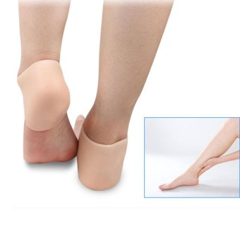 Protective Cracked Feet Pressure Pain Relief Socks Silicone GelCushion Pad Heel Liner for Foot Improved Circulation CompressionEffective Support for Arthritis Joint Pain Relief - intl - 4