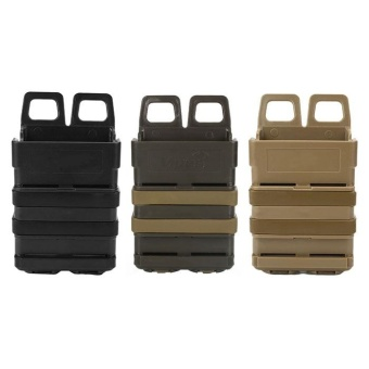 Quality Tactical Fast Mag Attach Belt Magazine Pouch 5.56 Molle Holster Outdoor Hunting - intl - 4