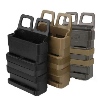 Quality Tactical Fast Mag Attach Belt Magazine Pouch 5.56 Molle Holster Outdoor Hunting - intl - 3