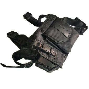 Radio Chest Harness bags Holster Vest Rig (Rescue Essentials) -intl - 2