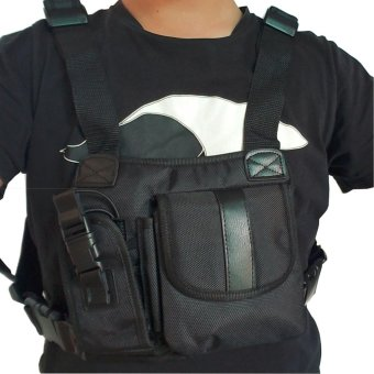 Radio Chest Harness bags Holster Vest Rig (Rescue Essentials) -intl - 4